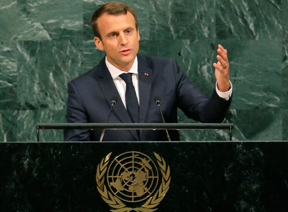 Paris Agreement Macron Says Climate Deal Will Not Be Renegotiated Despite Trump S Demands The Independent The Independent