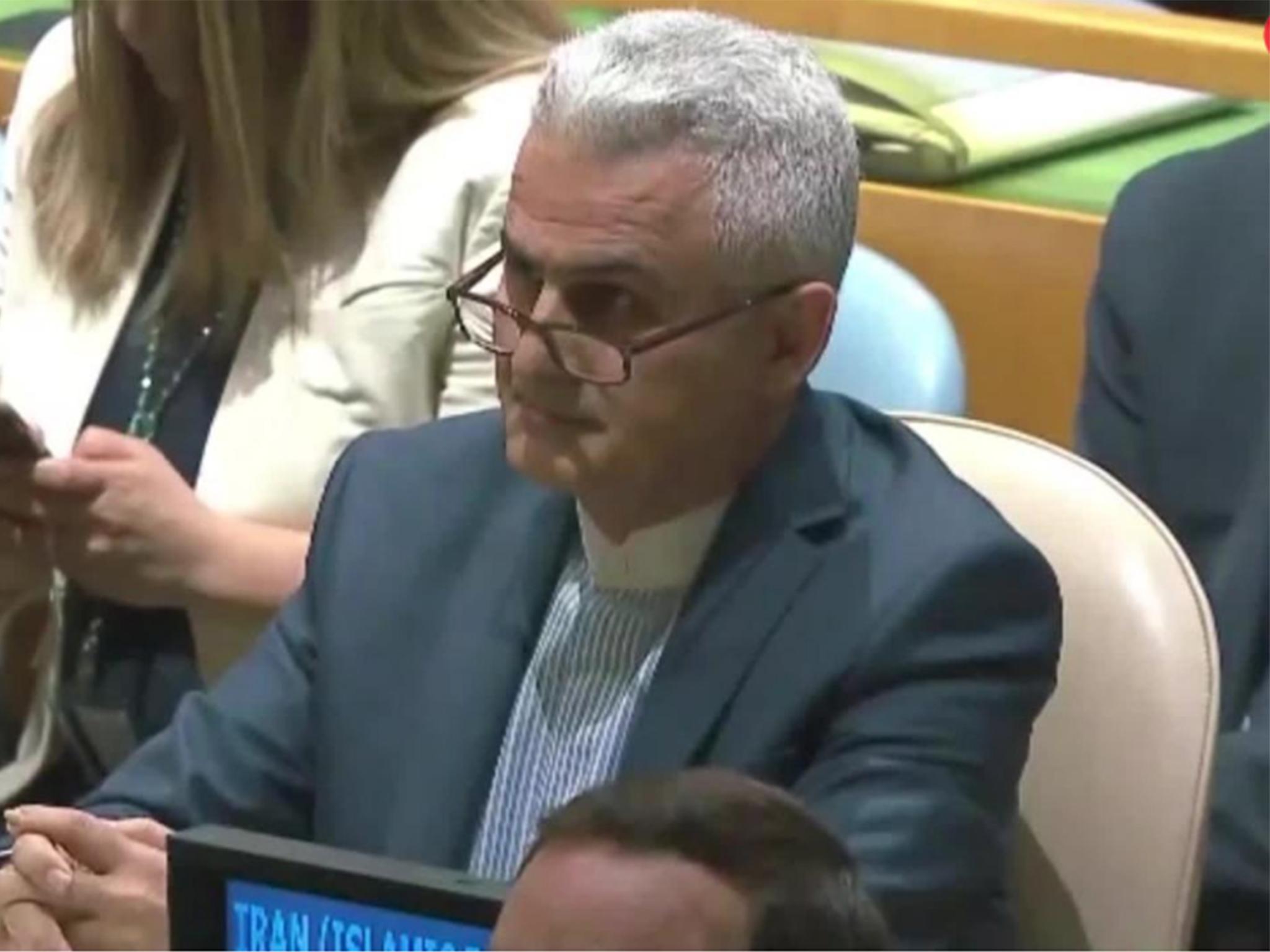 Diplomats struggle to hide their anger at Donald Trump's UN speech