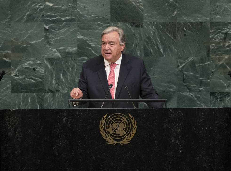The UN Secretary General has disclosed that the majority of sex abuse allegations have come from outside peace-keeping operations