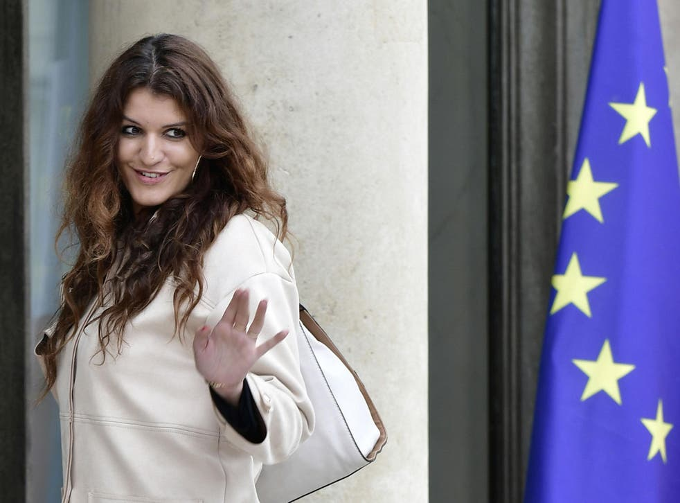 Marlene Schiappa, French minister for gender equality, is the heading the campaign against sexual harassment on the country's streets