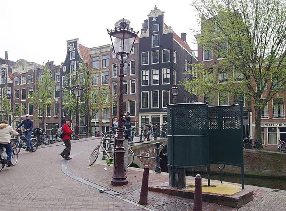 Geerte Piening was caught urinating in an alleyway in 2015