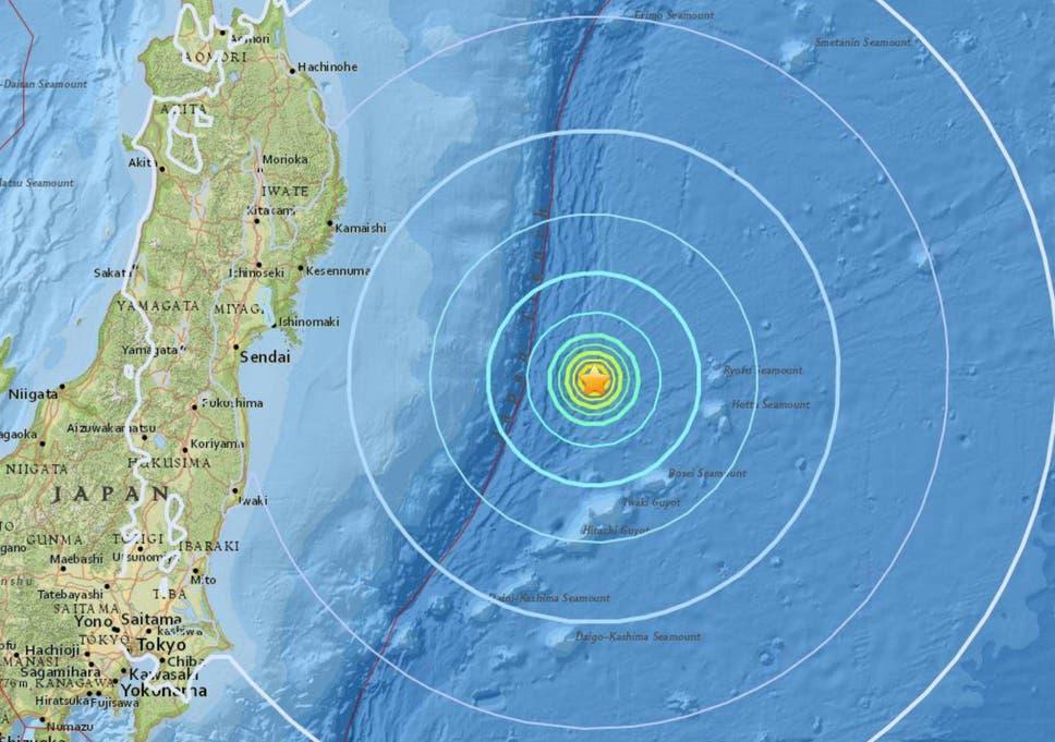 Japan earthquake magnitude 61 tremors hit east coast the independent japan earthquake magnitude 61 tremors hit east coast fandeluxe Gallery