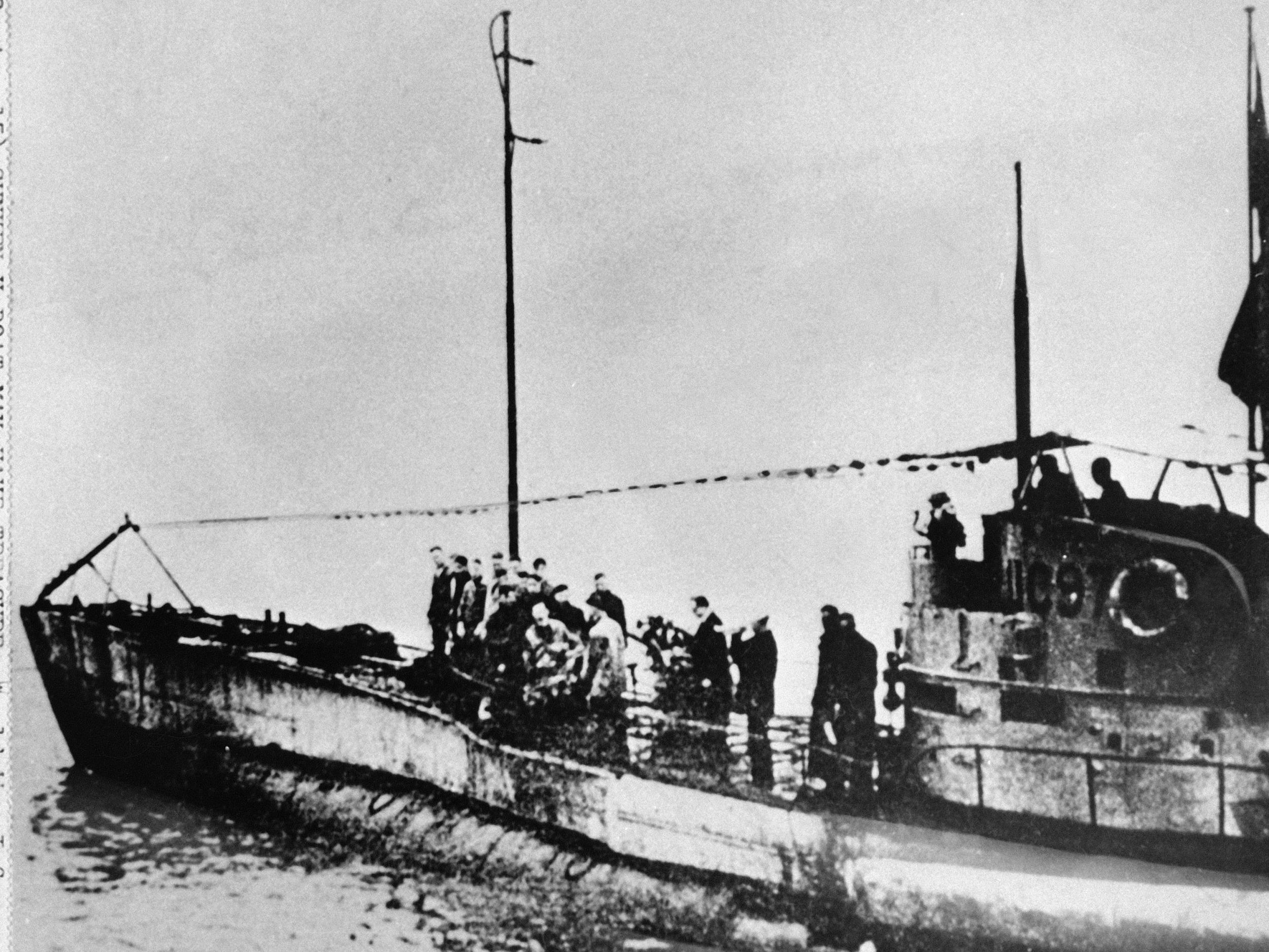 German First World War submarine with 23 bodies inside discovered off Belgian coast