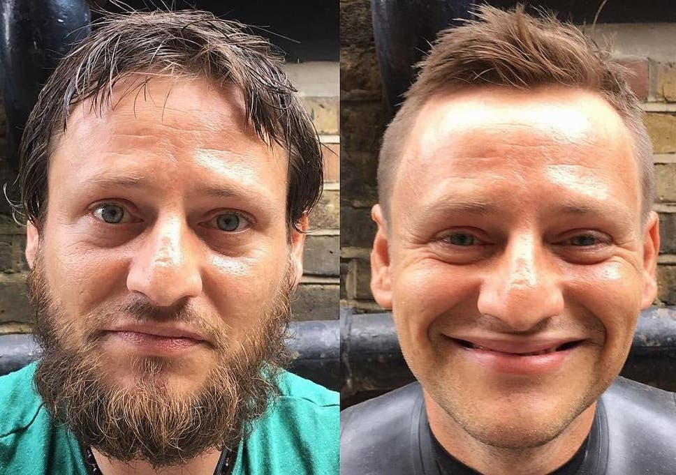 This Man Is Giving Free Haircuts To The Homeless The Independent