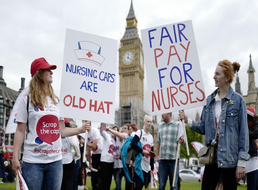 The 1 per cent pay rise cap is preventing medical staff from becoming homeowners