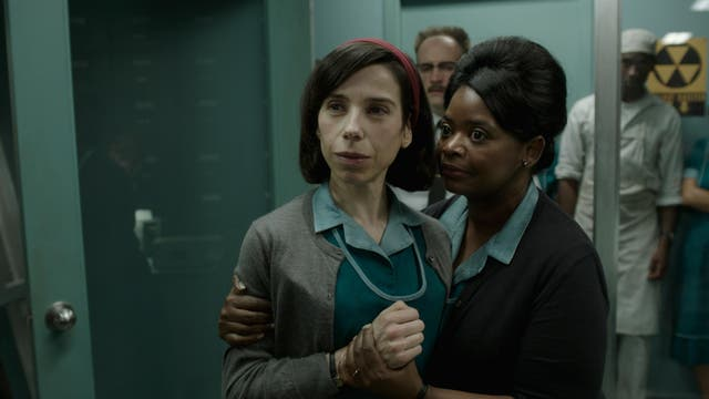 The Shape of Water: Sally Hawkins and OctaviaSpencer in Guillermo del Toro's fantasy