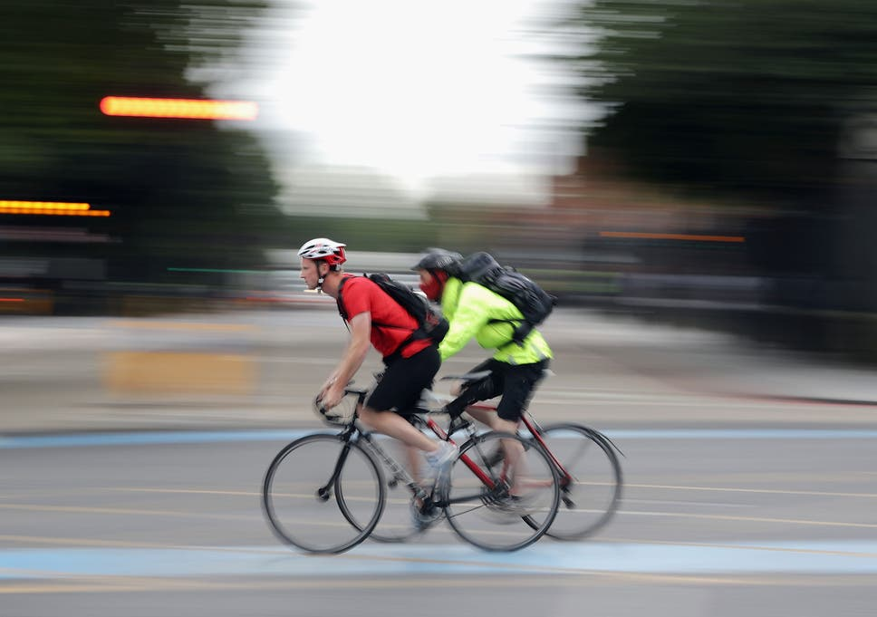 Cyclists are 15 times more likely than drivers to be killed