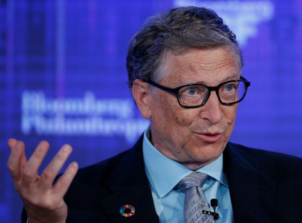 Microsoft co-founder Bill Gates, speaks at the Bloomberg Global Business Forum in New York City, U.S., September 20, 2017