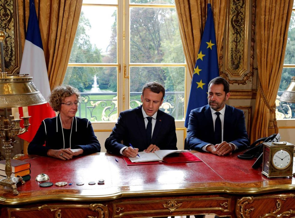 Mr Macron hopes the reforms will stimulate the French economy and lower unemployment