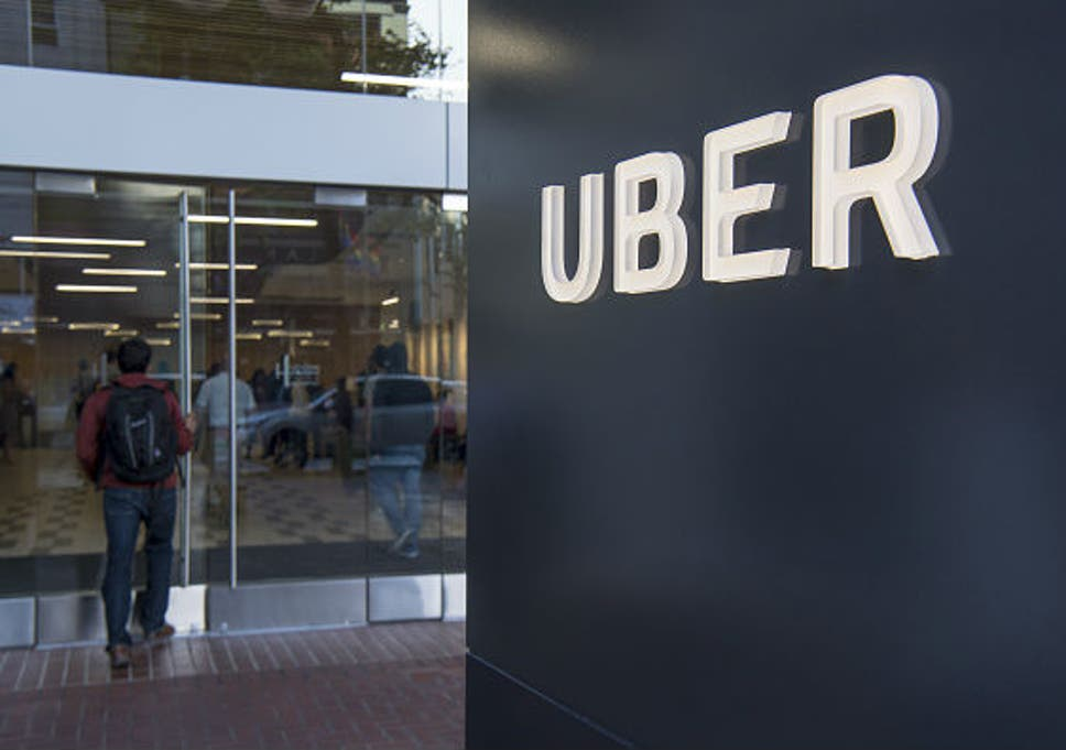 We got an Uber to Uber's Silicon Valley HQ to ask them about getting