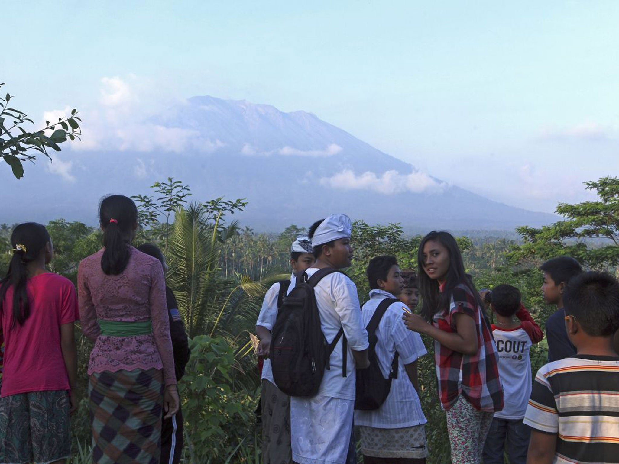 Bali Volcano Latest News Breaking Stories And Comment The