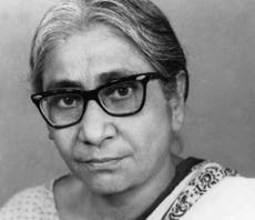 Who was India's first female scientist to be awarded a PhD?