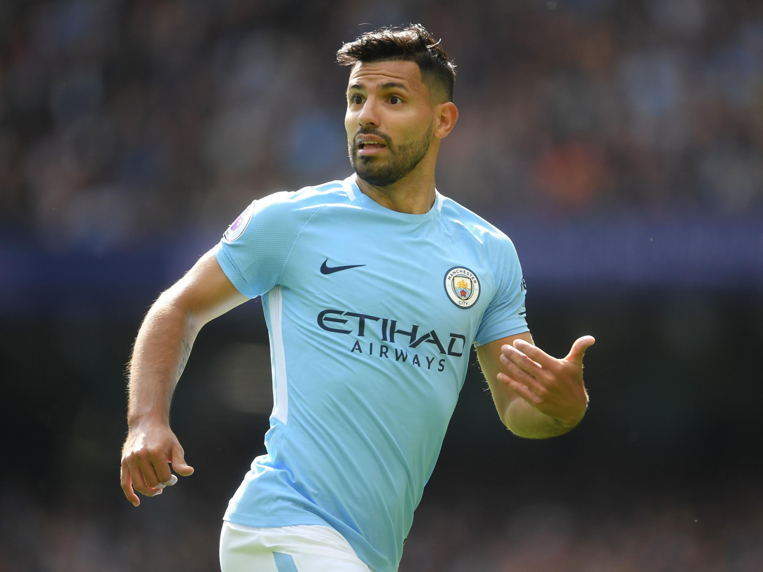 Sergio Aguero hands Manchester City injury boost with return to