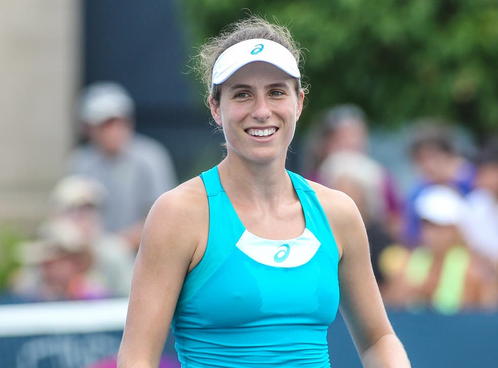 Konta is ready to make the best of the remaining weeks of the season