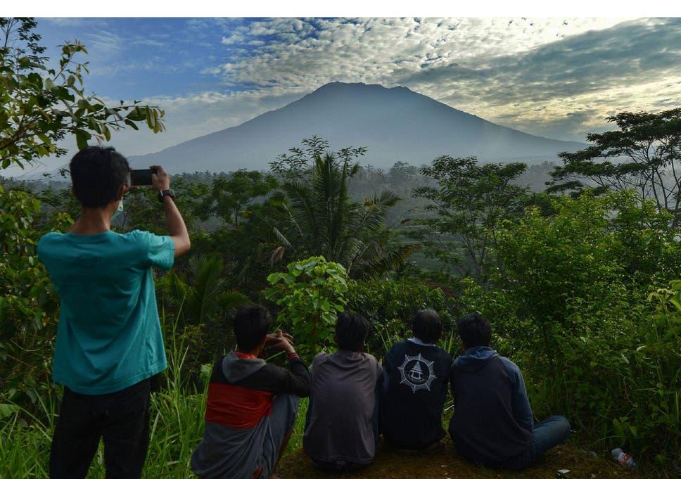 Bali Volcano Island Prepares For Major Volcanic Eruption As
