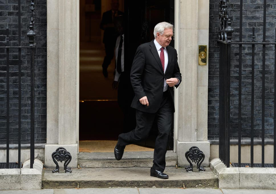 9c2c7407a Brexit talks: David Davis heads to Brussels for negotiations as ...