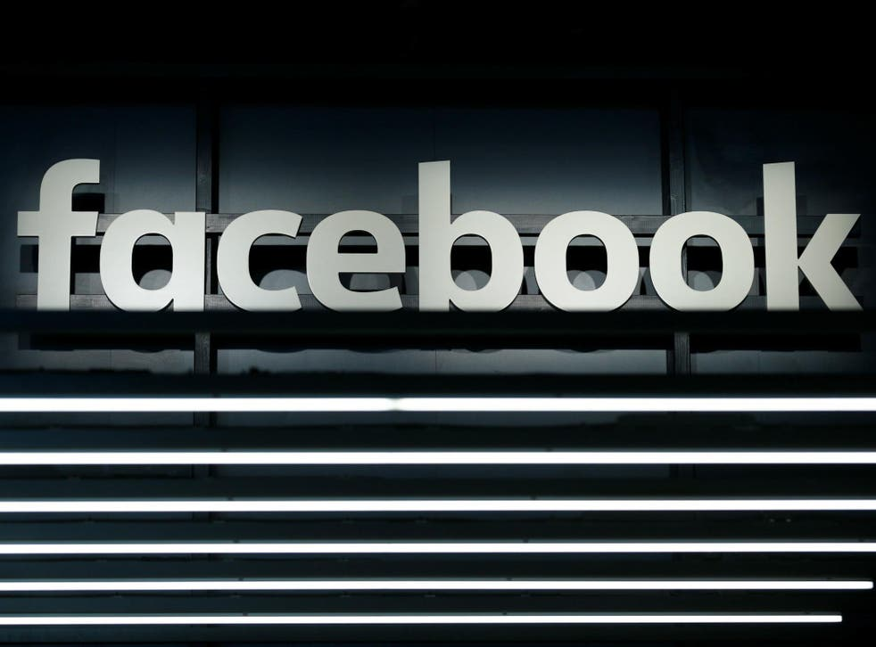 A Facebook logo is pictured at the Frankfurt Motor Show (IAA) in Frankfurt, Germany September 16, 2017