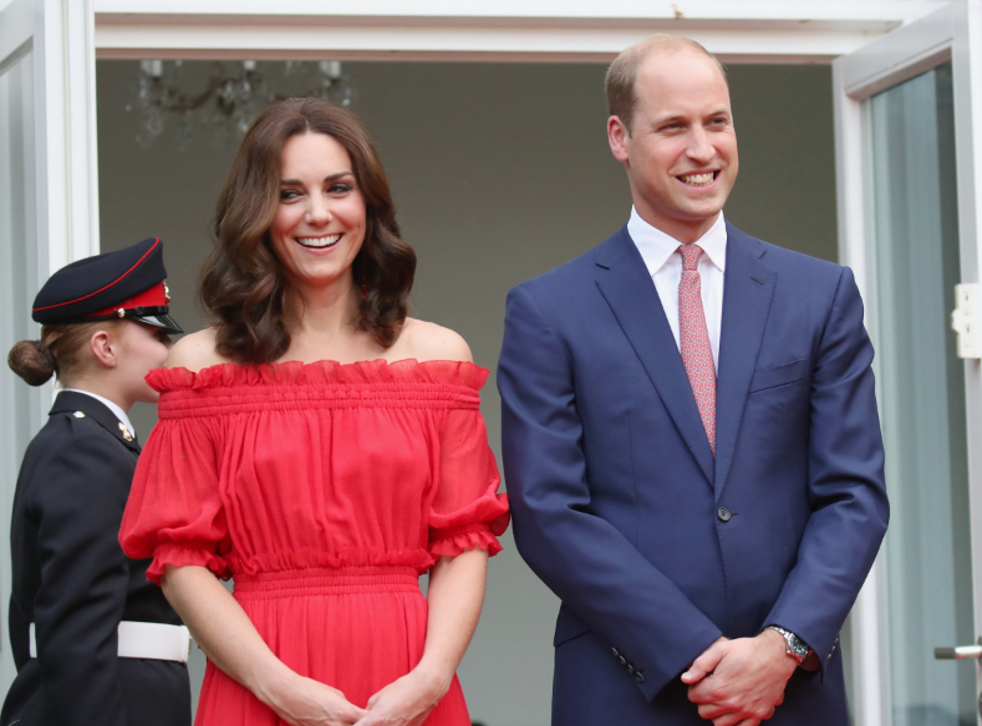 The Duke and Duchess of Cambridge are referred to as the Earl and Countess of Strathearn in Scotland
