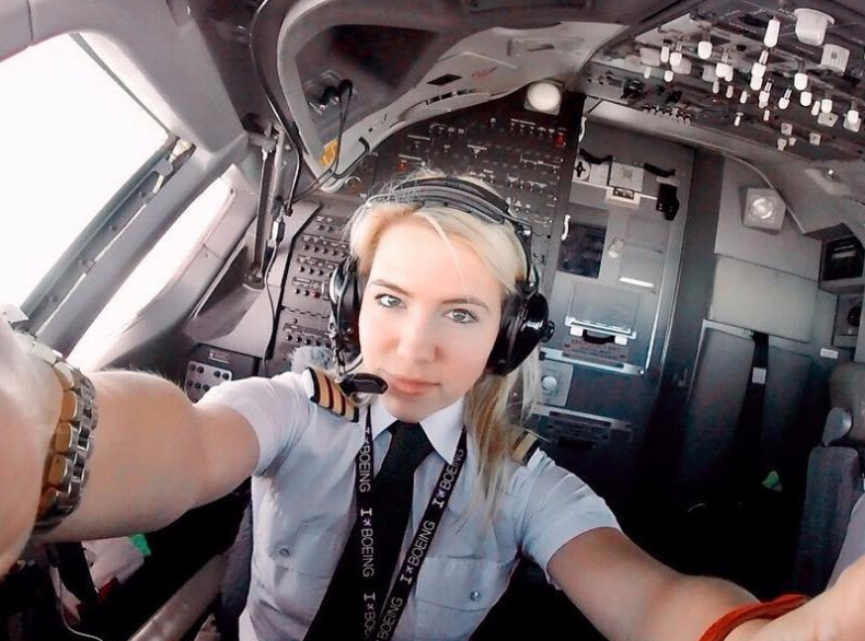 Meet the 31-year-old pilot and fitness guru who shares her jetsettin…