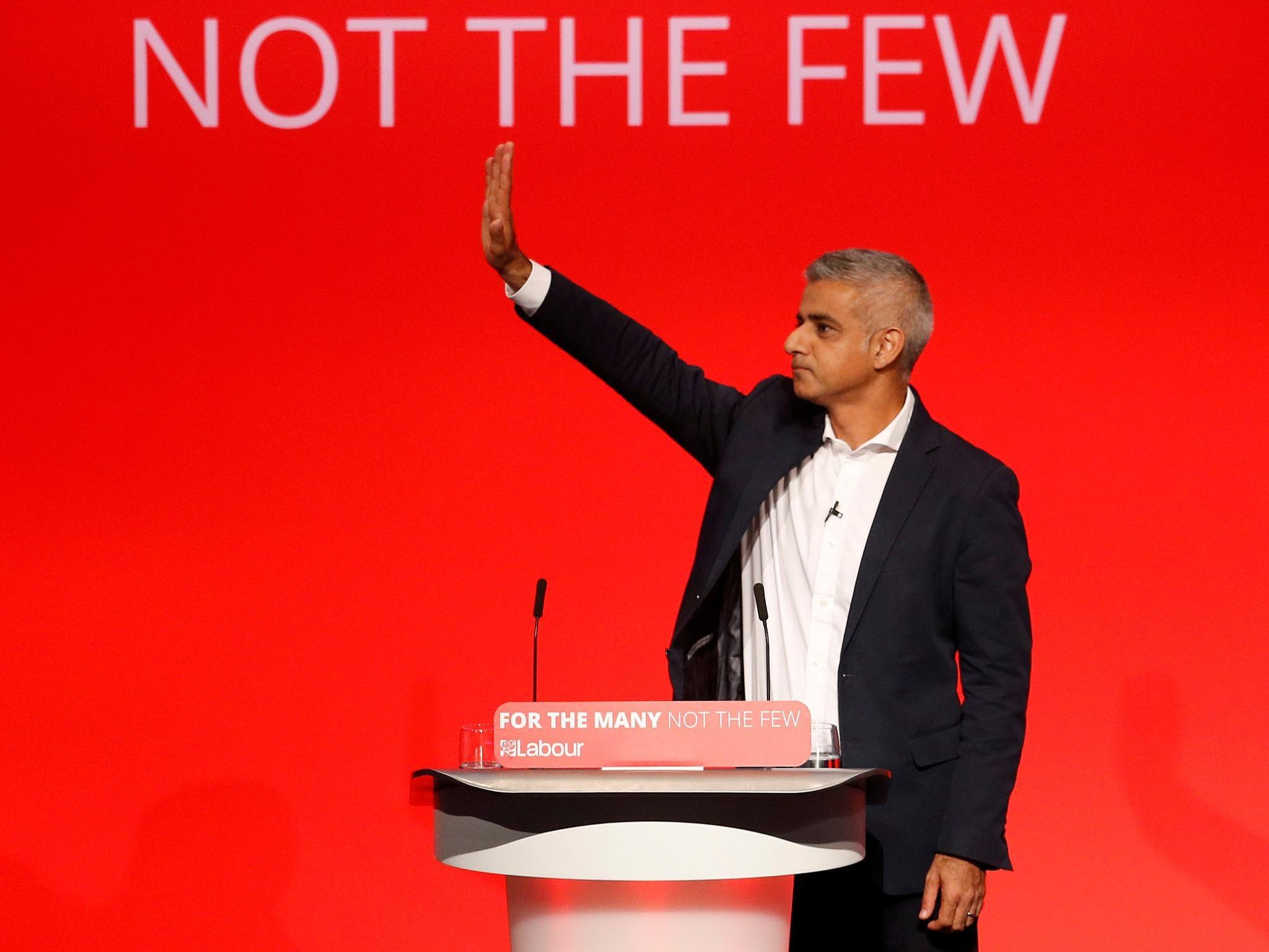 Sadiq Khan suggests Labour may back second referendum on Brexit