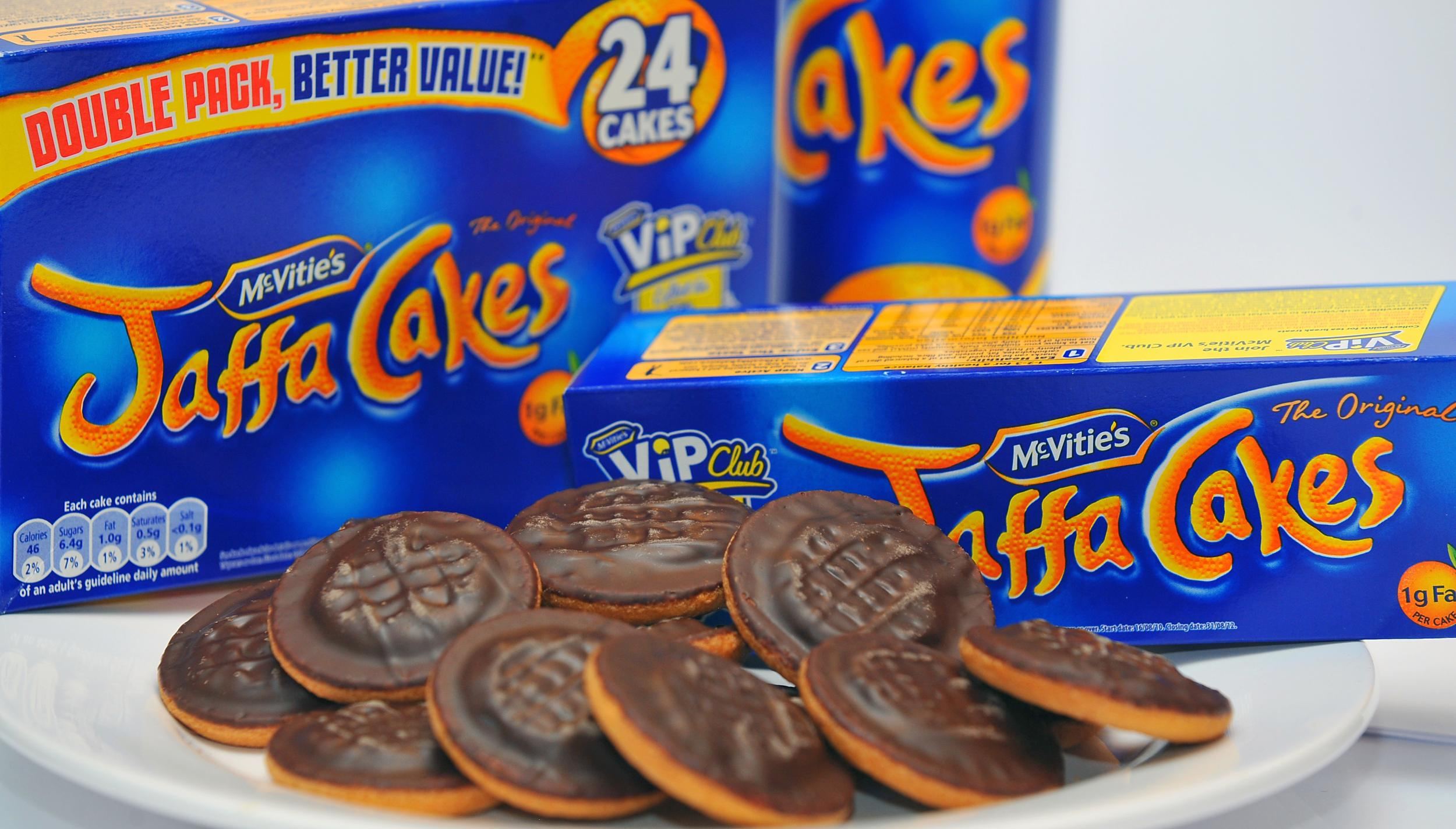 Jaffa Cakes Mcvitie S Cuts The Number Of Biscuits Cakes