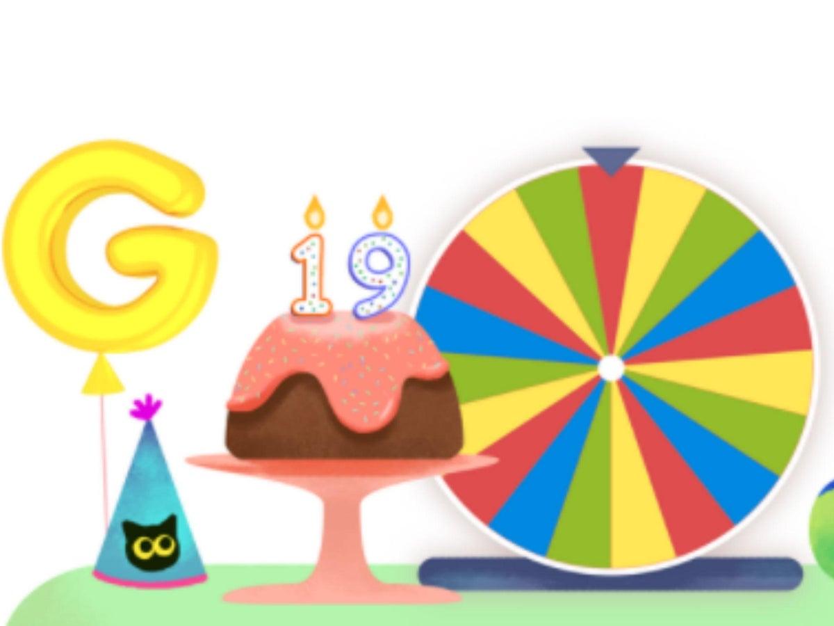 Google Birthday Surprise Spinner Pepper Game
