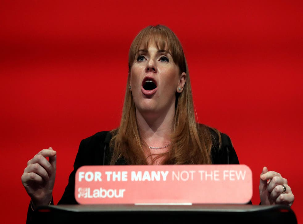 Angela Rayner has said that Labour would apply national terms and conditions to all schools