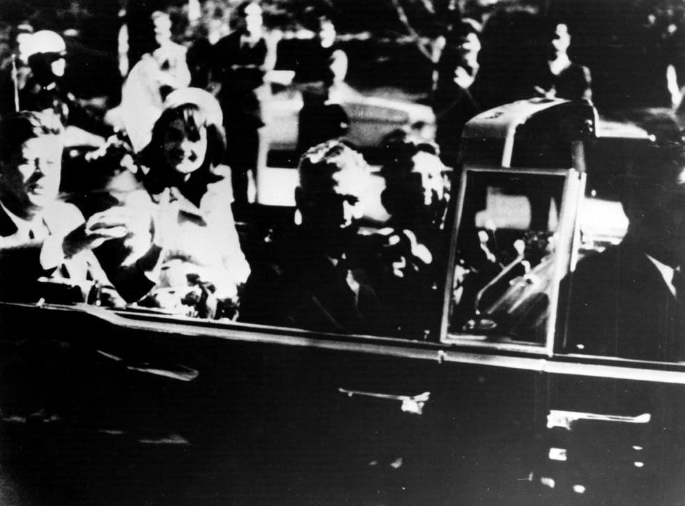 22 November, Dallas, Texas, 1963: JFK and his wife Jacqueline minutes before the assassination (Getty)