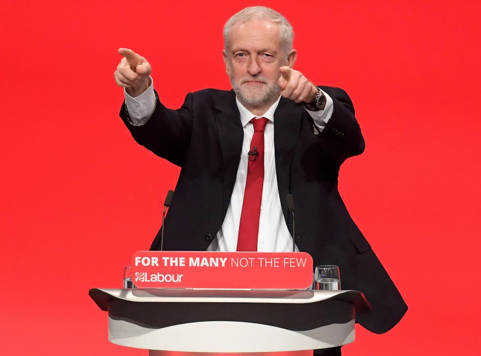 Mr Corbyn said Labour was a 'government in waiting' and was ready to 'take up the responsibility for Brexit negotiations' following June's shock election result