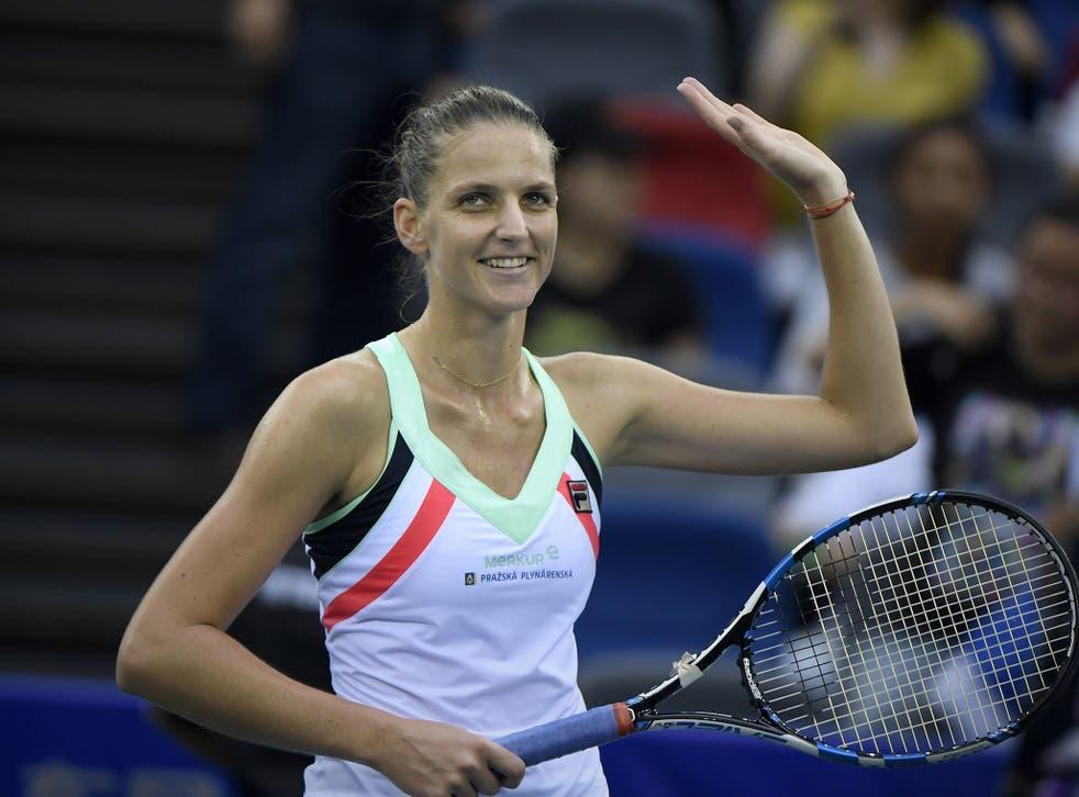 Pliskova is hoping to regain her World No 1 ranking