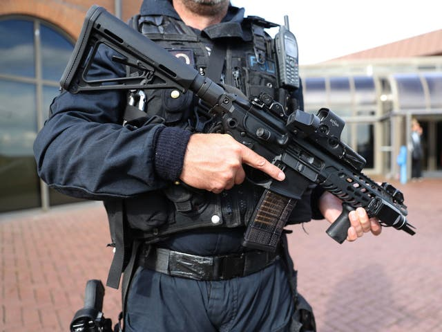 """<p>The man was arrested by counter-terrorism police and appeared at a hearing at the <a href=""""/topic/old-bailey"""">Old Bailey</a> via video-link   </p>"""