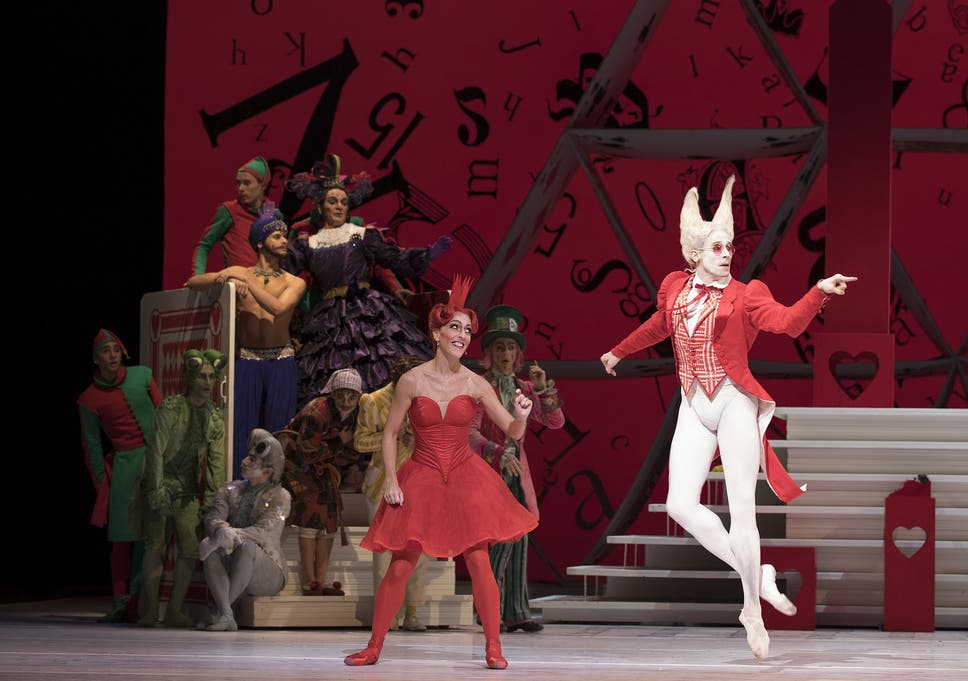 Alice's Adventures in Wonderland, Royal Opera House, London
