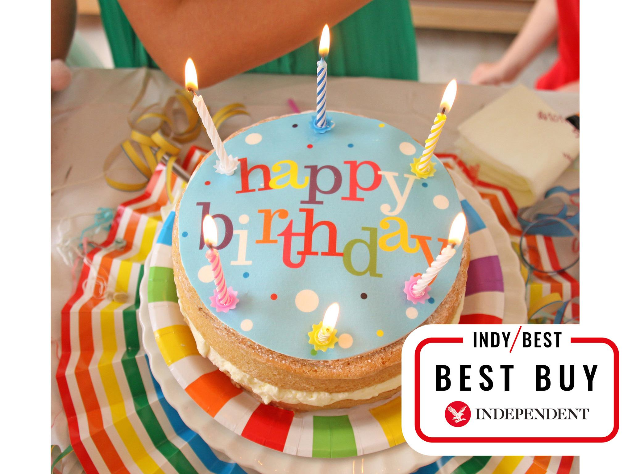 10 Best Gluten Free Birthday Cakes The Independent