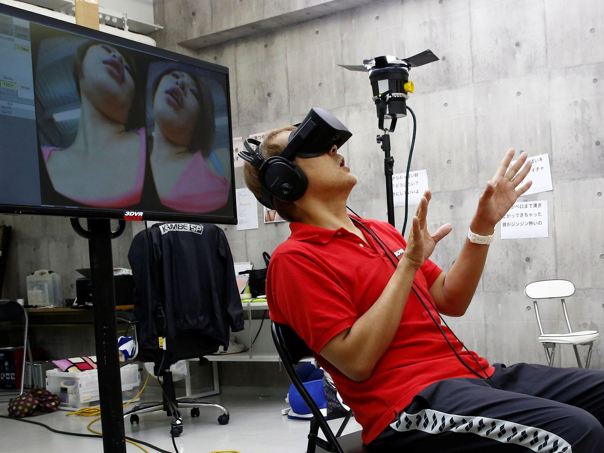 Japan video makers, gamers explore virtual reality for adults