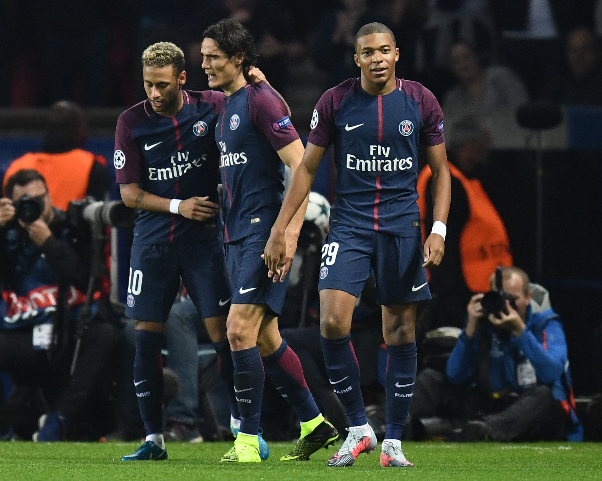 How one minute during the beating of Bayern Munich ...