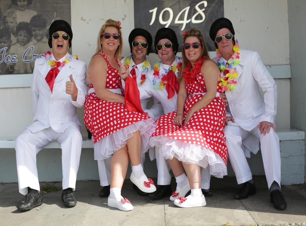 Porthcawl transforms into an Elvis paradise each September