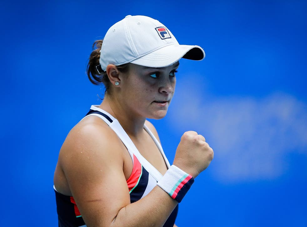 Barty is on an extraordinary run of form