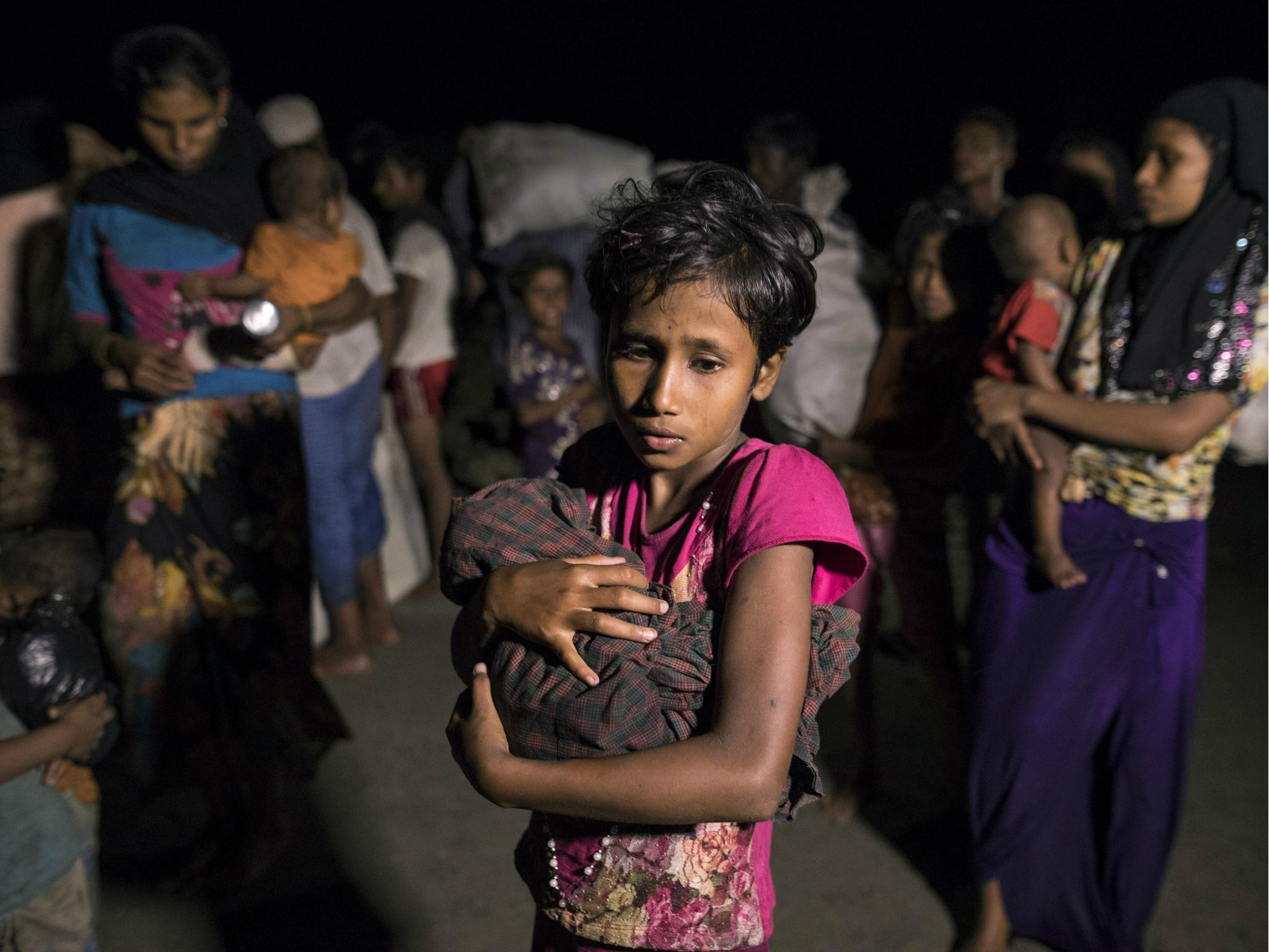 Nearly 340,000 Rohingya children 'outcast and desperate' in squalid Bangladesh camps, Unicef warns