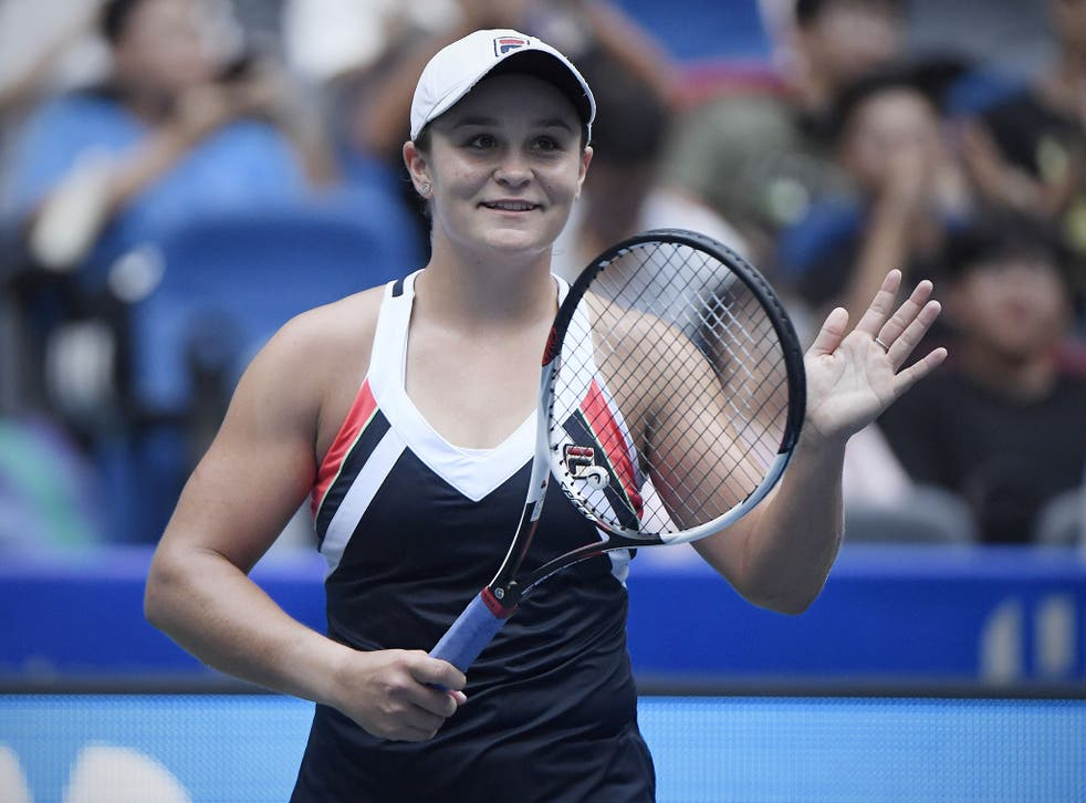 Ashleigh Barty is now knocking on the door of the top 20