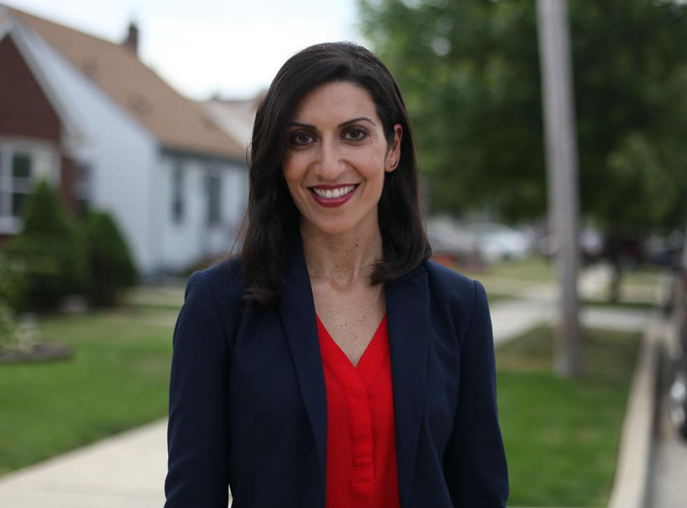 Ms Saad is running for Congress is Michigan's 11th district, which has been Republican (with one exception) since 1967