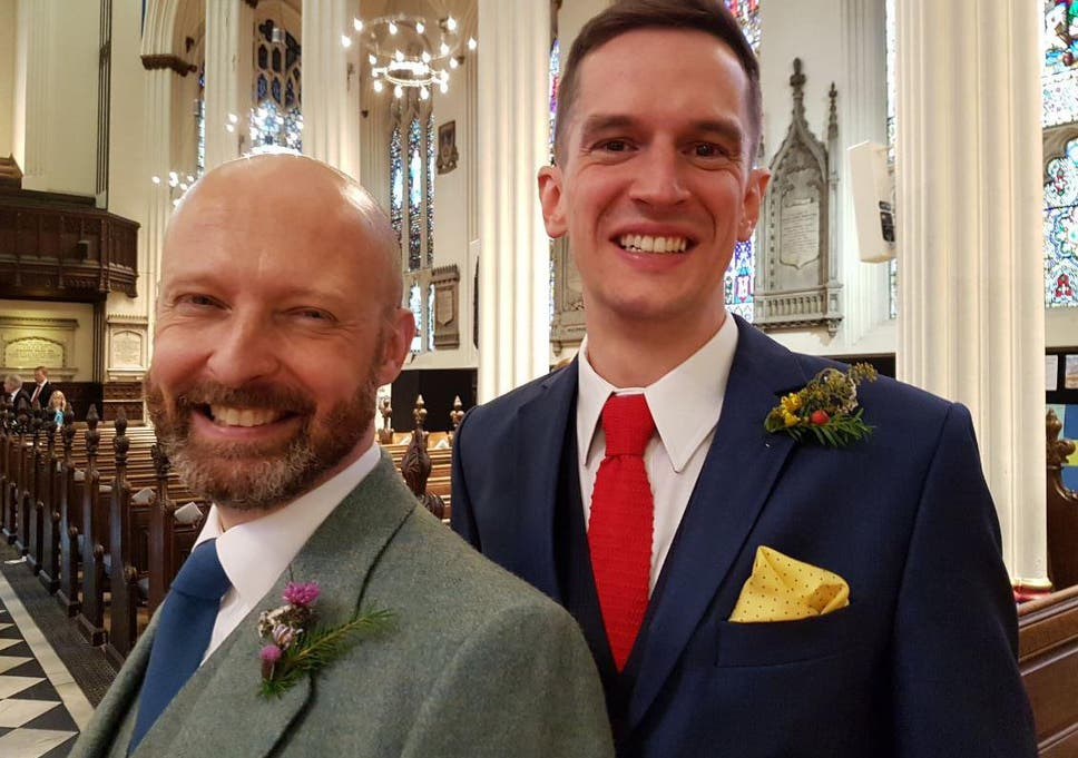Wedding benediction for same sex couples