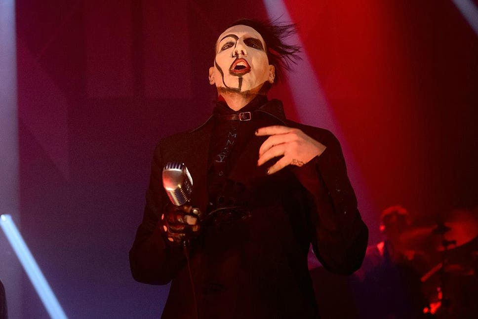 Marilyn manson has meltdown and rants at fans during show the click to follow the independent culture marilyn manson m4hsunfo