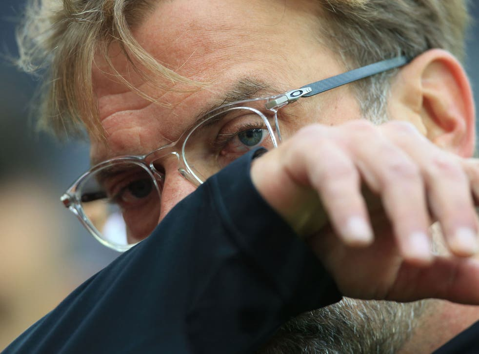 The German boss is staying positive despite yet another setback