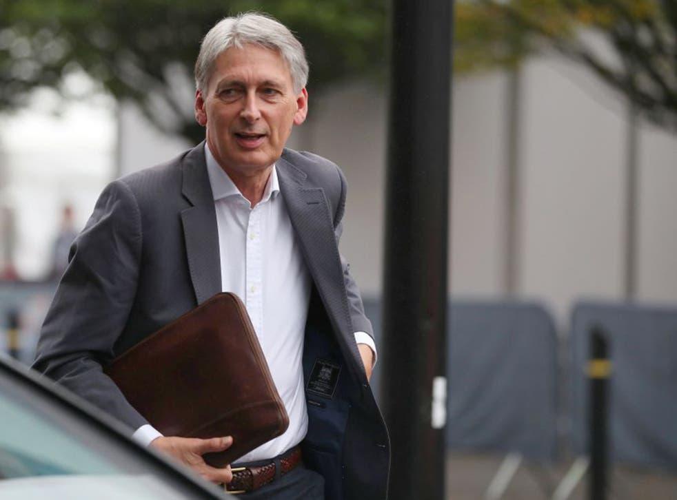 Philip Hammond called Boris Johnson's Brexit demands a 'rhetorical flourish'