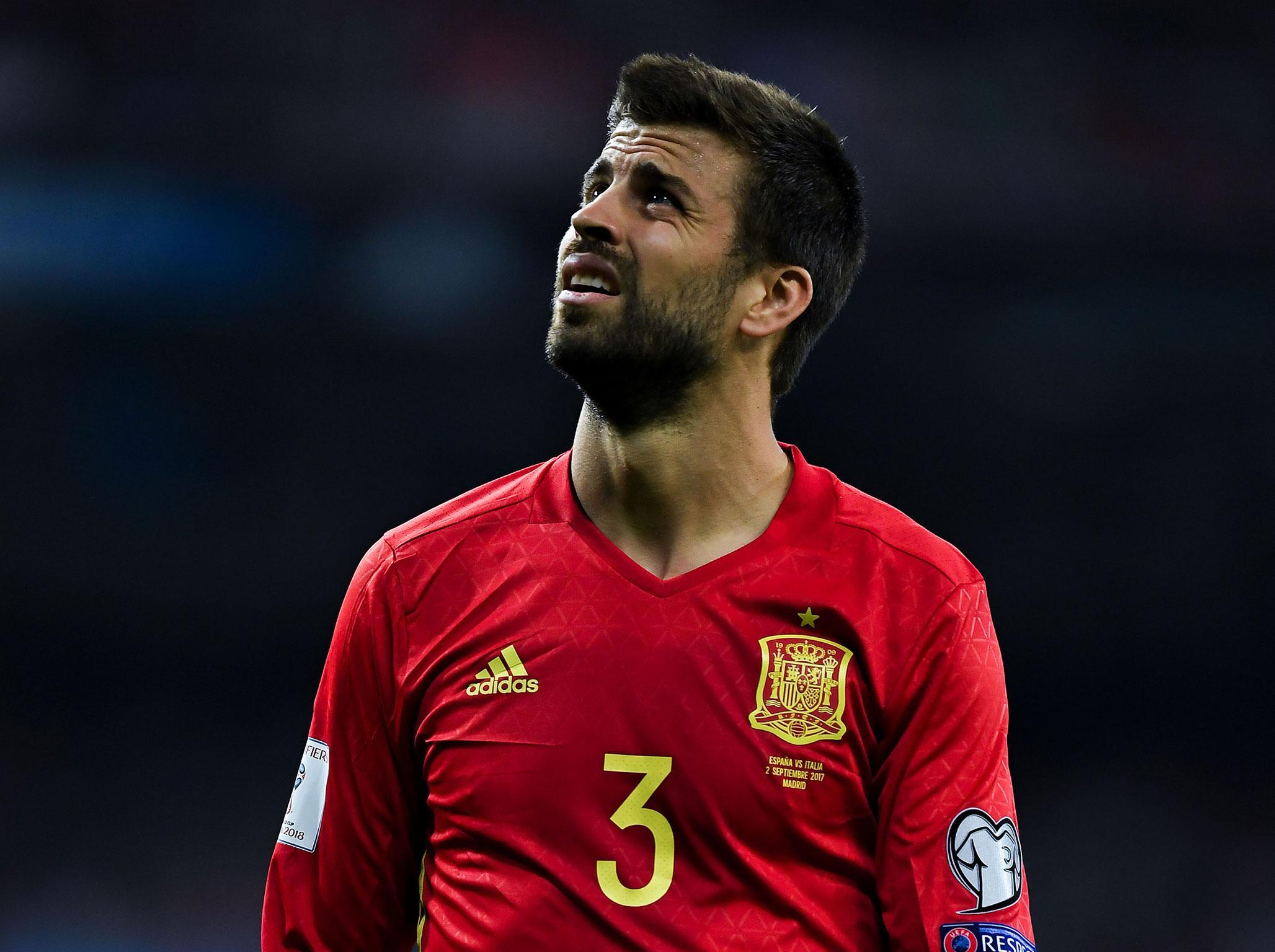 Gerard Pique prepared to turn his back on Spain if pro Catalonia