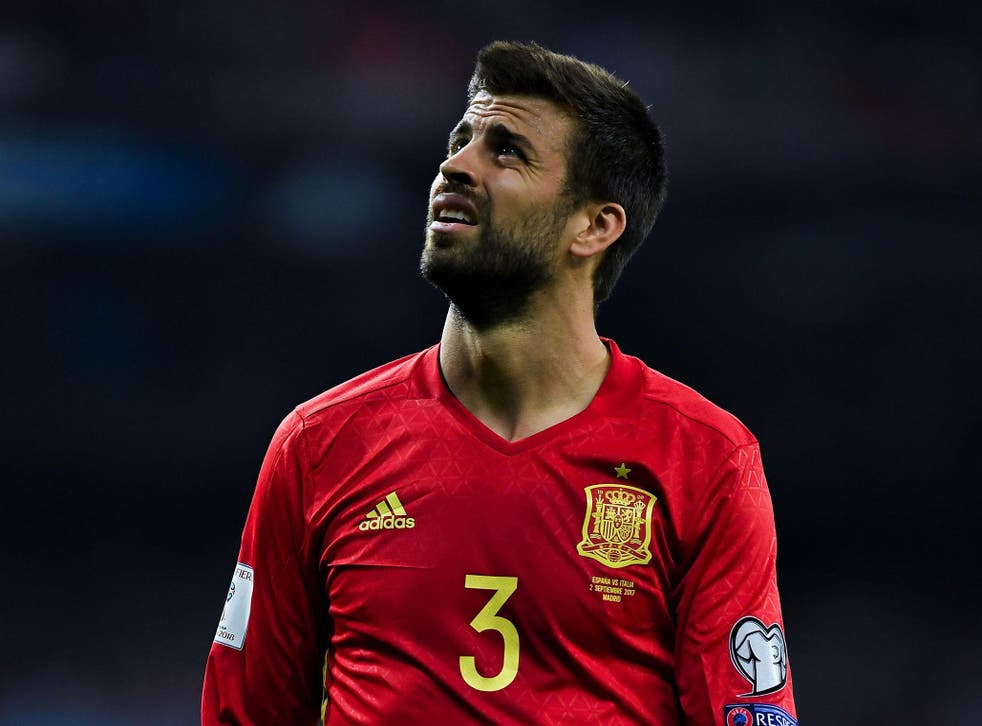Gerard Pique is ready to turn his back on the Spanish national team