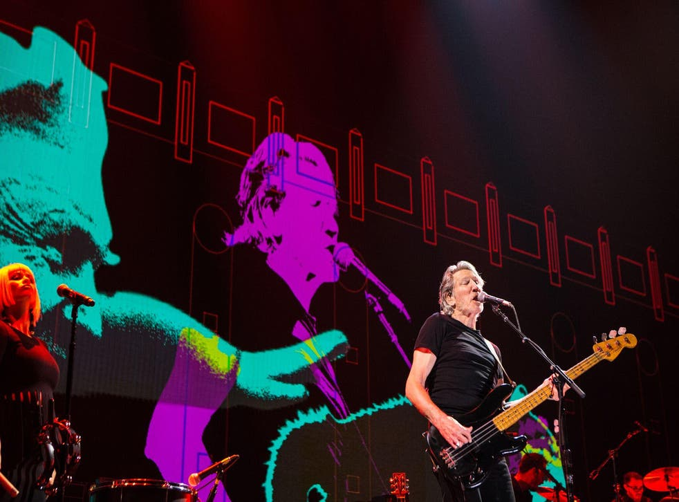 Roger Waters performs as part of his Us + Them tour