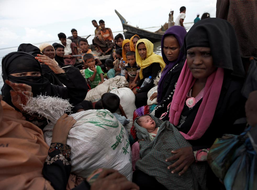 More than 20,000 Rohingya refugee women are believed to be pregnant