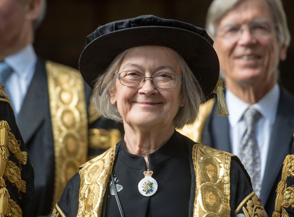 Lady Hale has been sworn in as the first female president of the UK's highest court, the Supreme Court