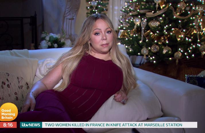 Giantess Carrei: Good Morning Britain Criticised Over Mariah Carey